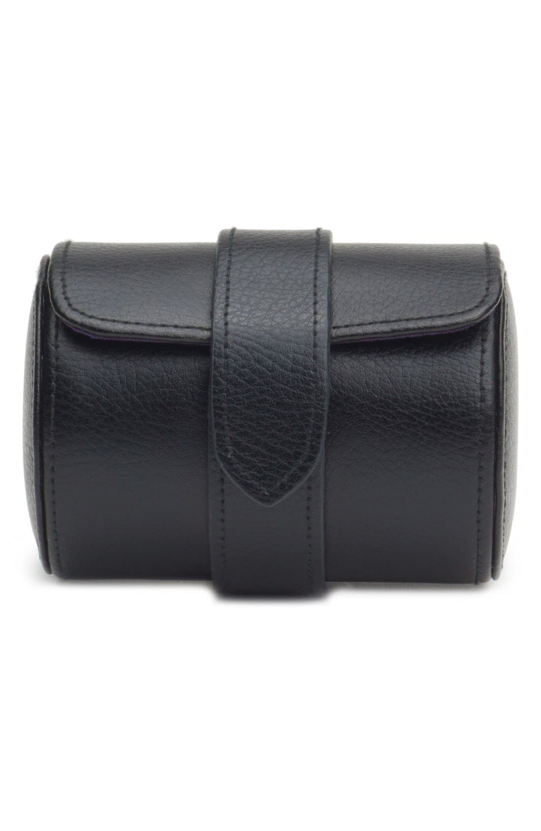Blake Watch Roll,                         Main,                         color, Black Pebble