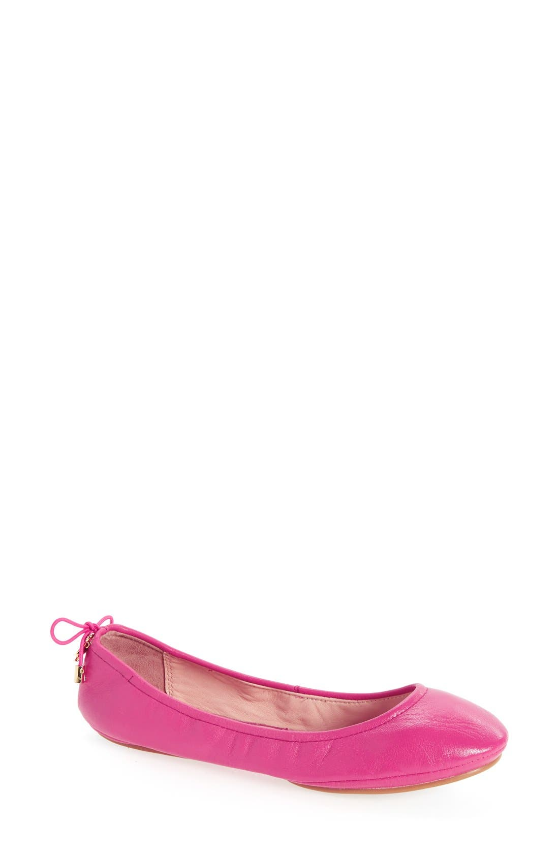 kate spade new york globe foldable ballet flat (Women)