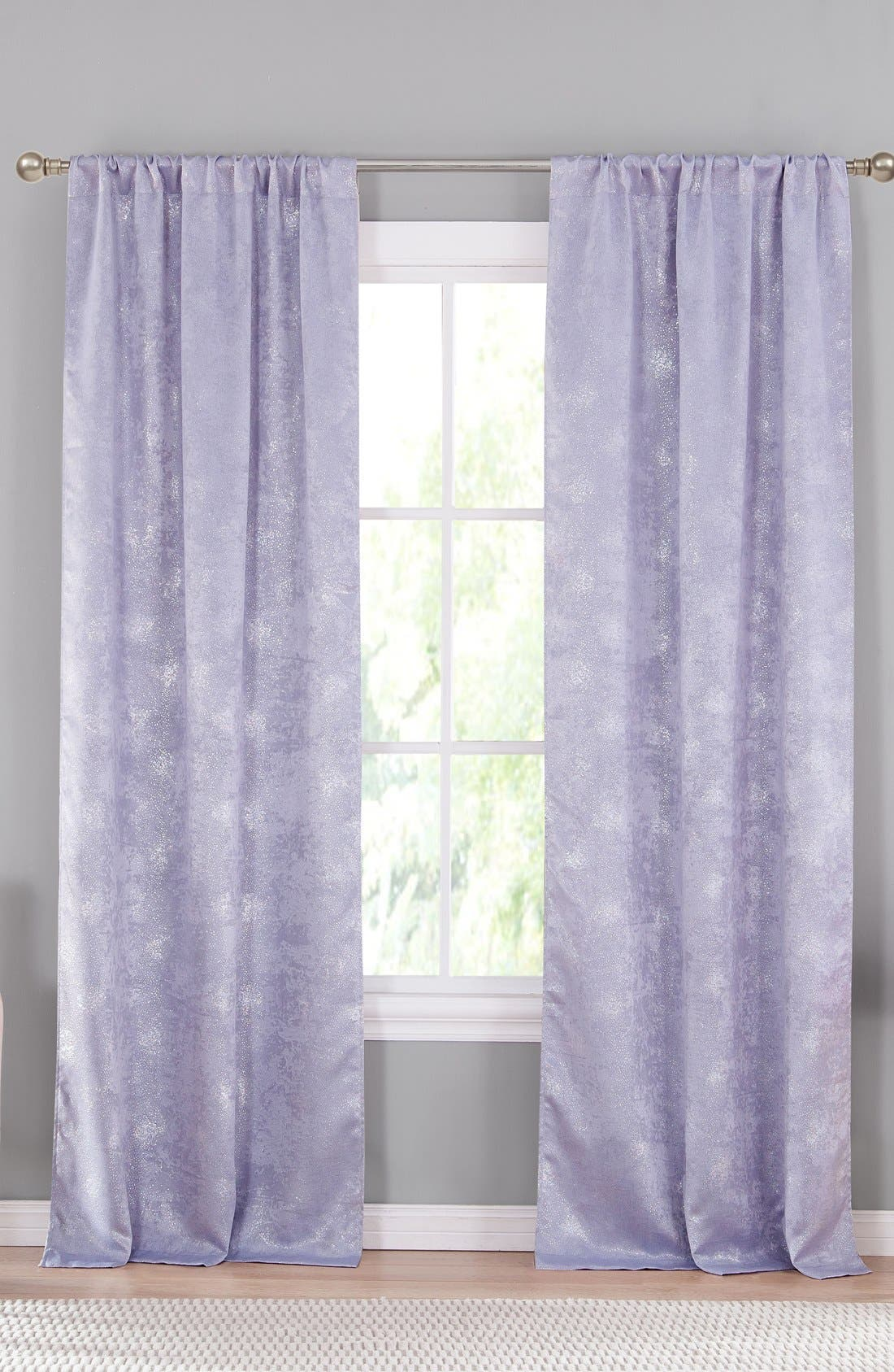 Clarice Blackout Window Panels,                         Main,                         color, Lavender