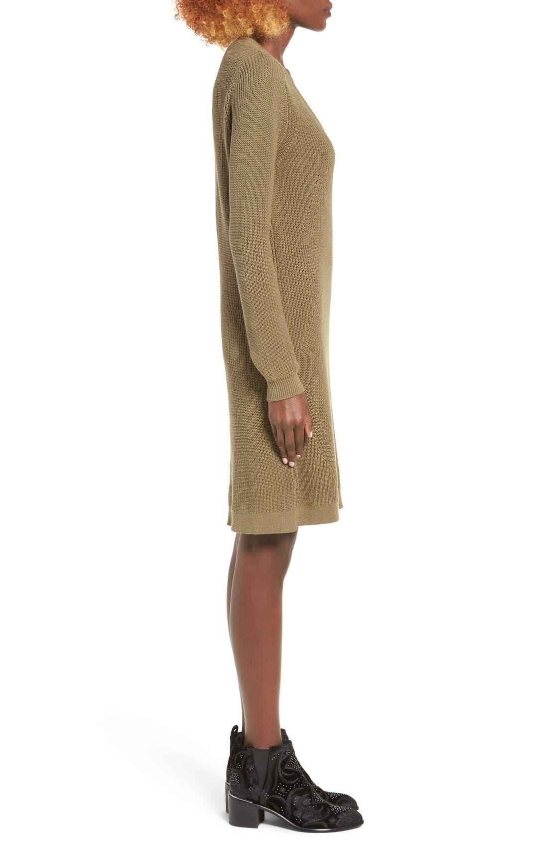 Alternate Image 3  - BP. Shaker Stitch Sweater Dress