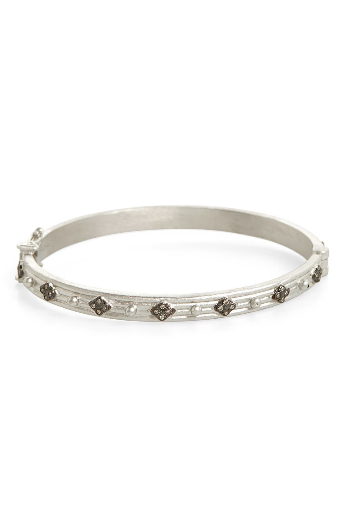 Armenta New World Diamond Hinge Bangle