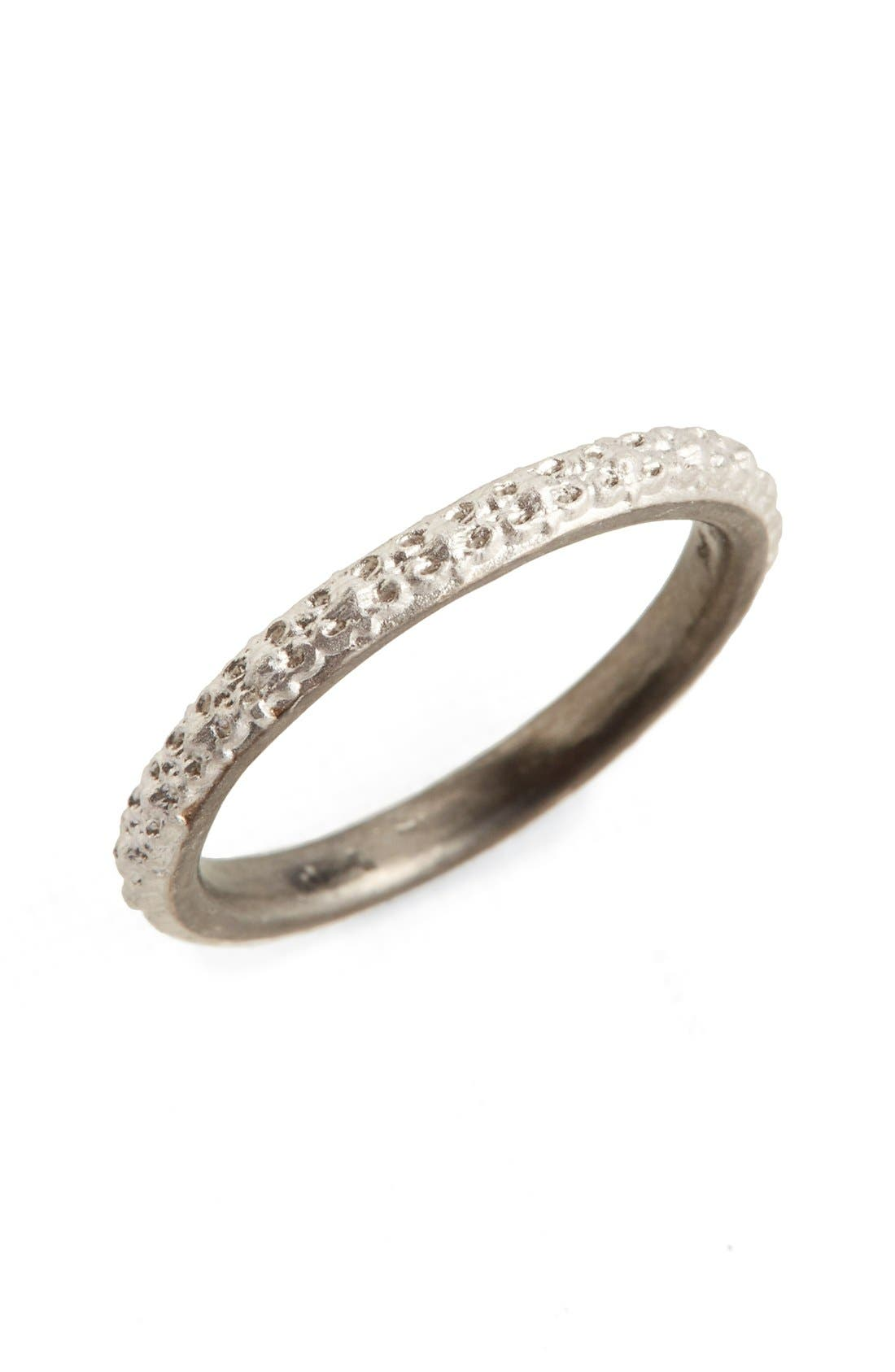 Old World Stacking Ring,                         Main,                         color, Silver
