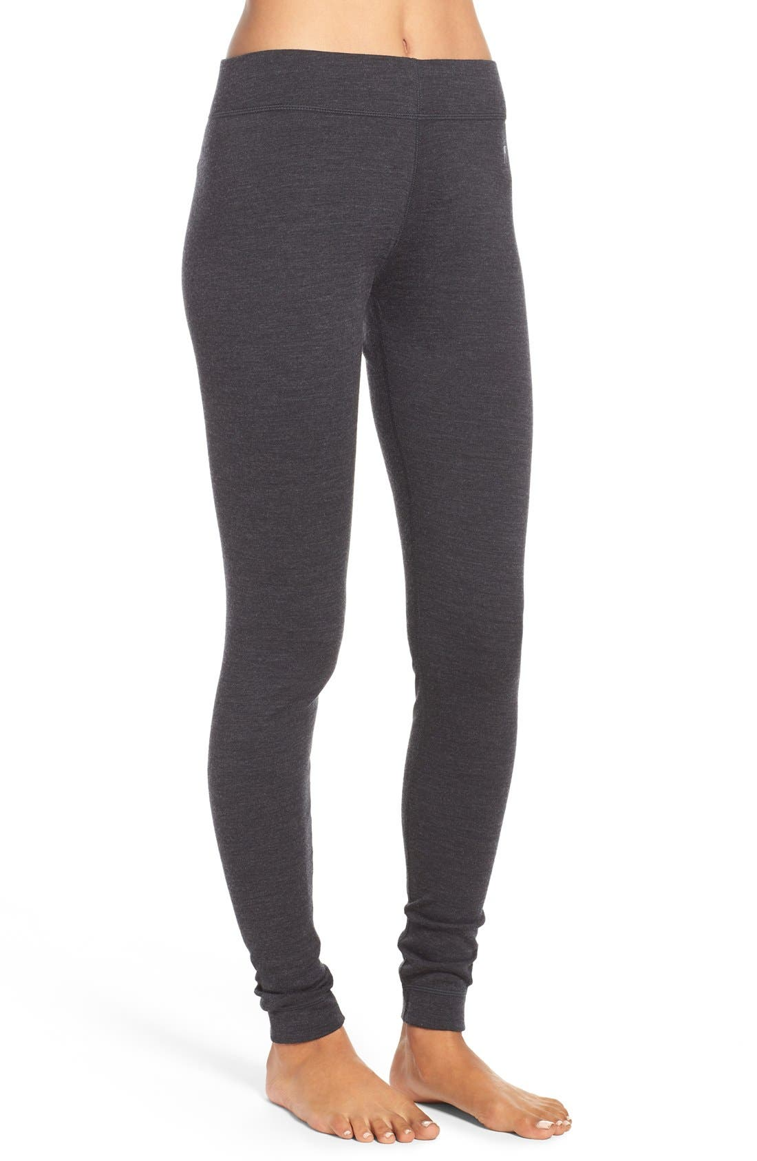 'NTS Mid 250' Bottoms,                             Alternate thumbnail 3, color,                             Charcoal Heather