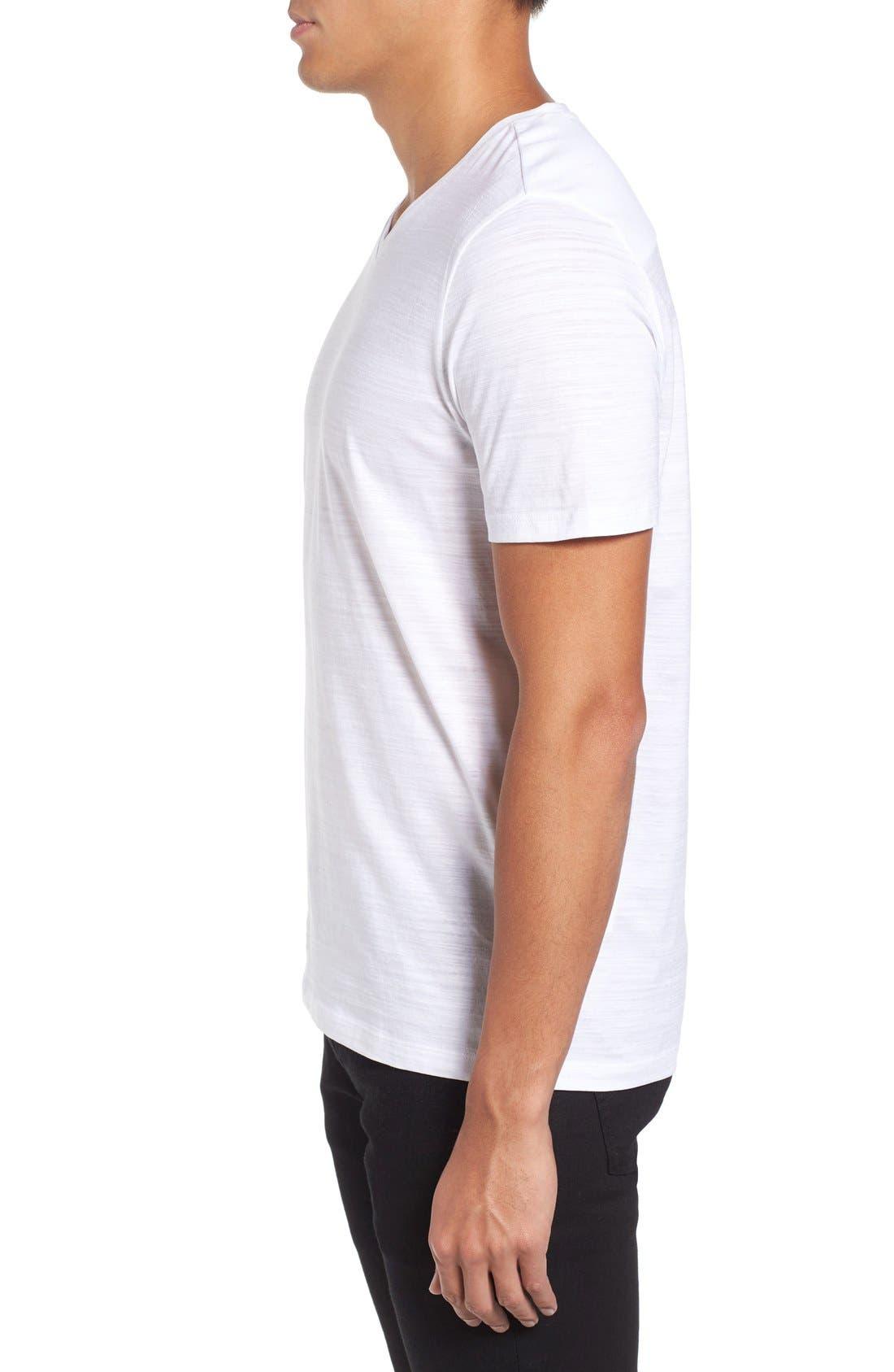 Tilson 50 V-Neck T-Shirt,                             Alternate thumbnail 3, color,                             White