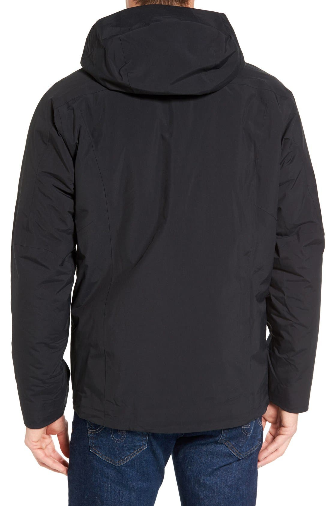 Windsweep 3-in-1 Jacket,                             Alternate thumbnail 2, color,                             Black