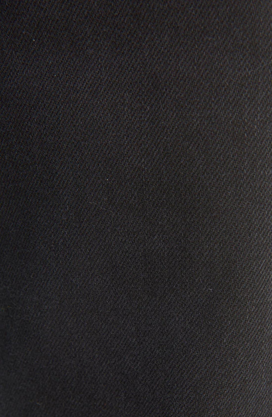 Boy Jeans,                             Alternate thumbnail 3, color,                             Black