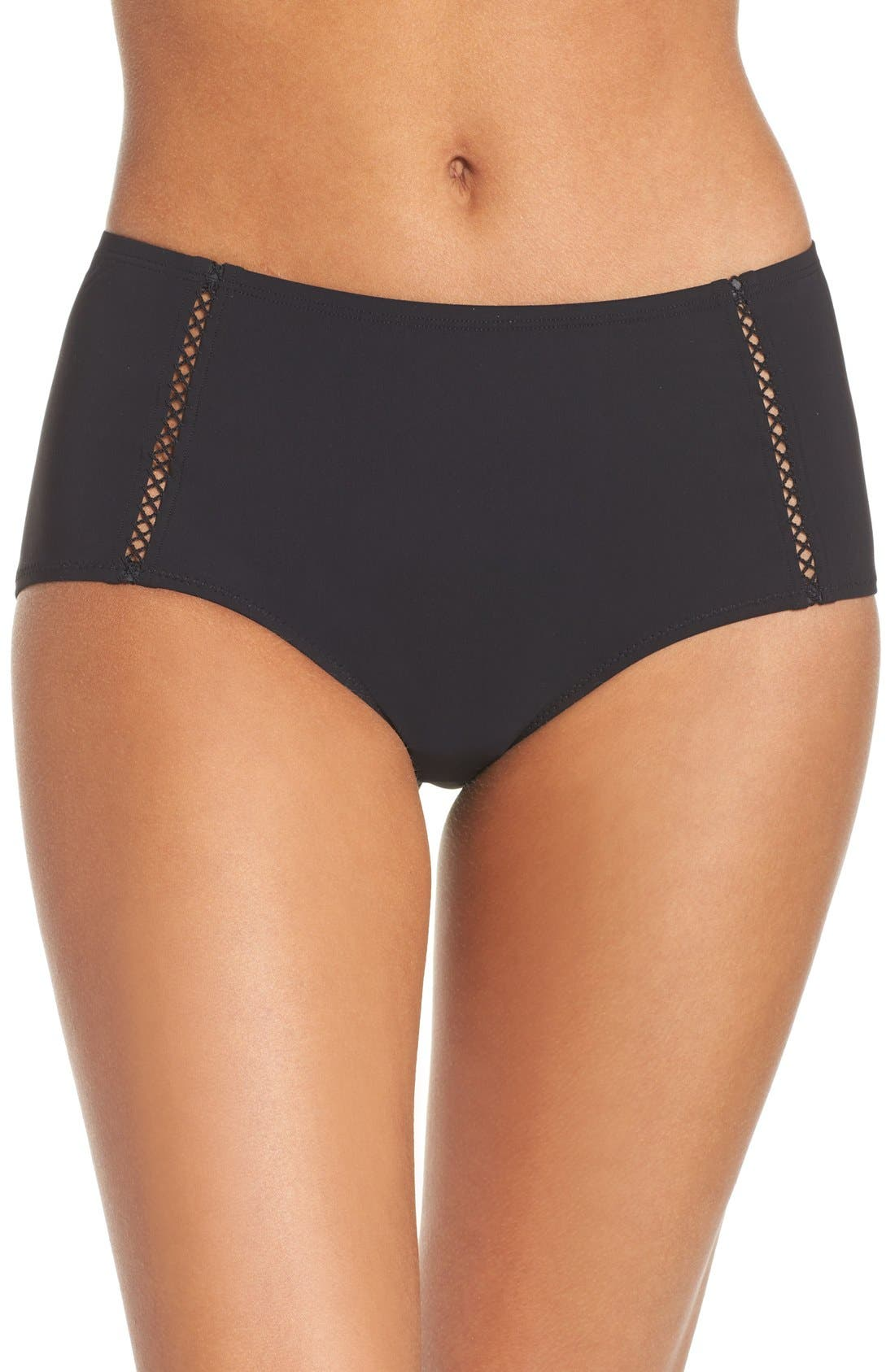 TORY BURCH High Waist Swim Briefs