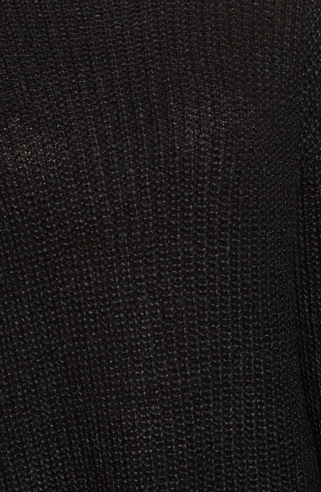 Alternate Image 6  - Trouvé Rib Knit Sweater
