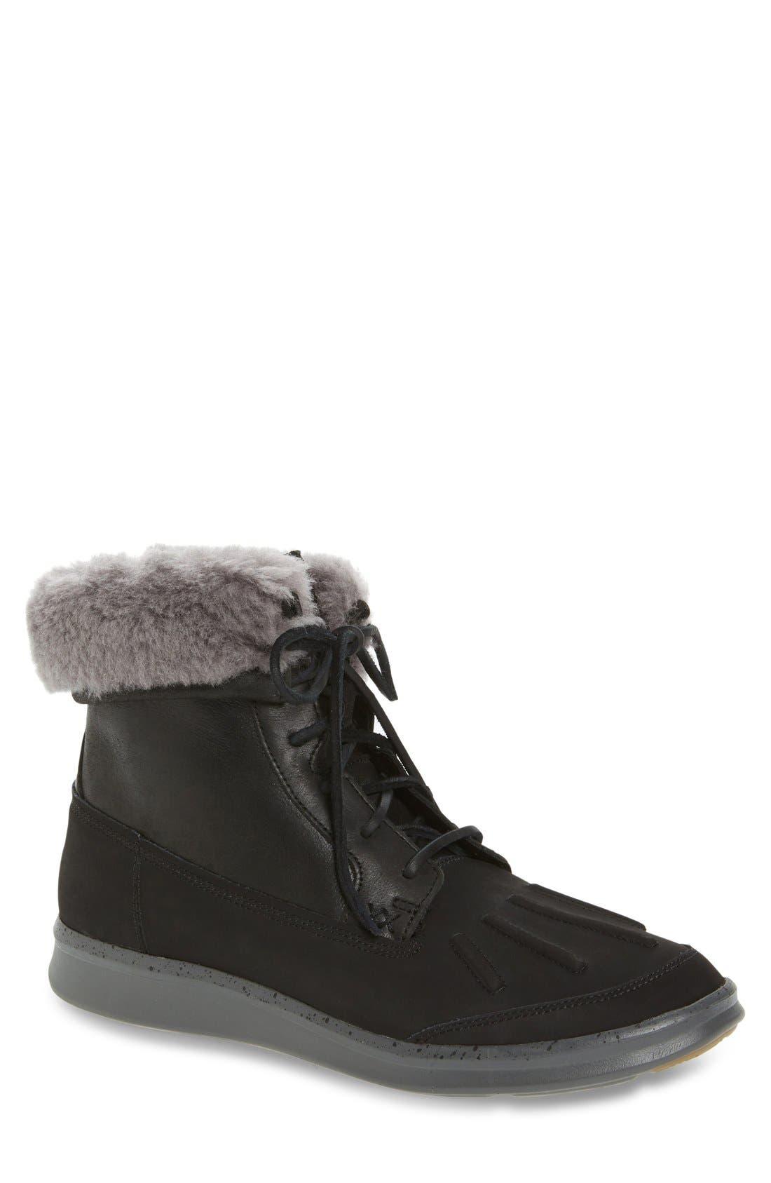 Roskoe Snow Boot,                             Main thumbnail 1, color,                             Black