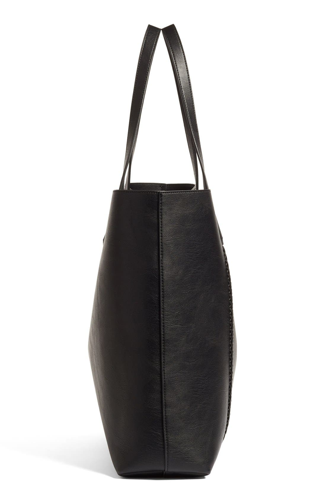 Alternate Image 4  - Phase 3 Faux Leather Tote