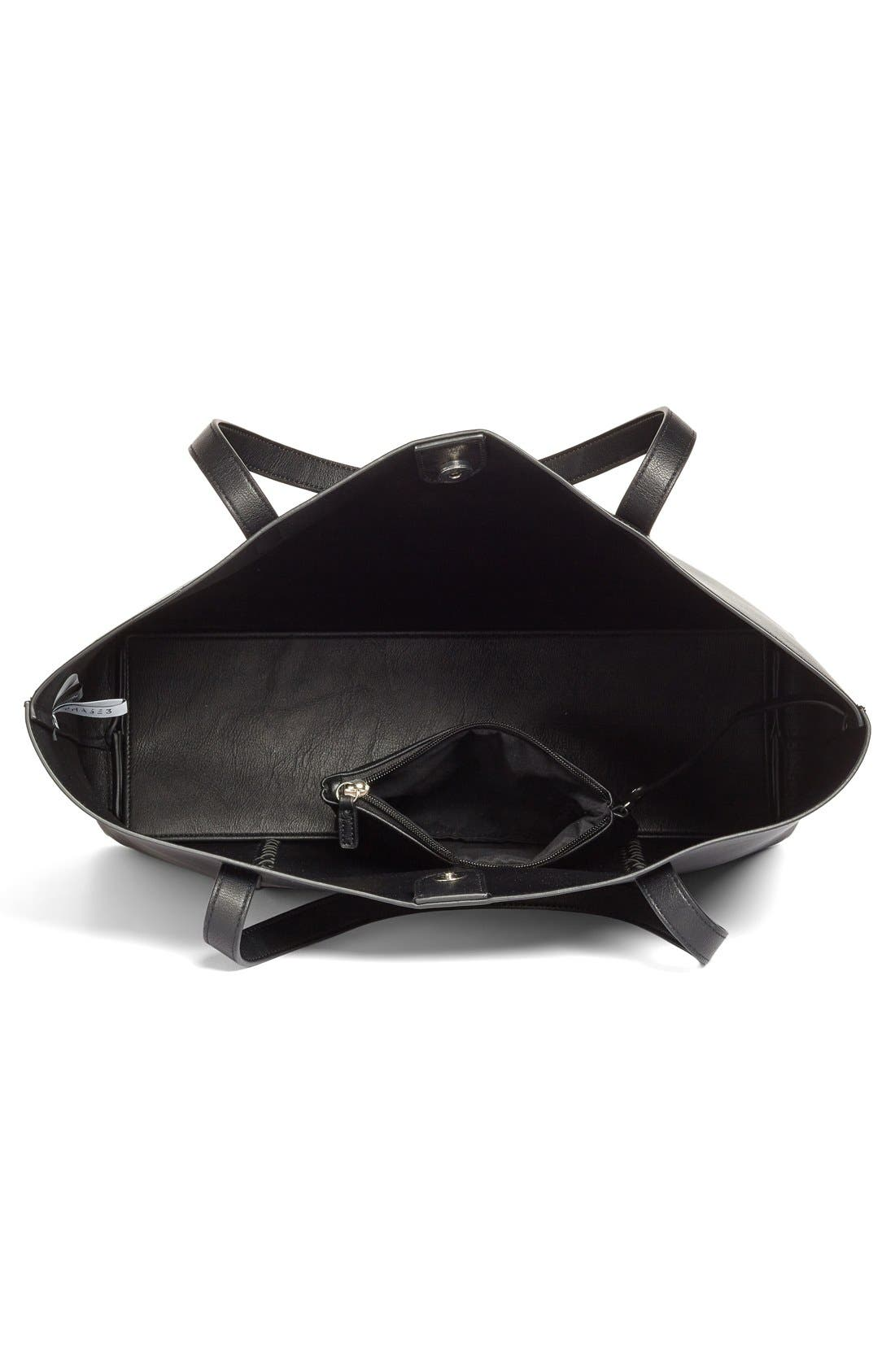 Alternate Image 5  - Phase 3 Faux Leather Tote