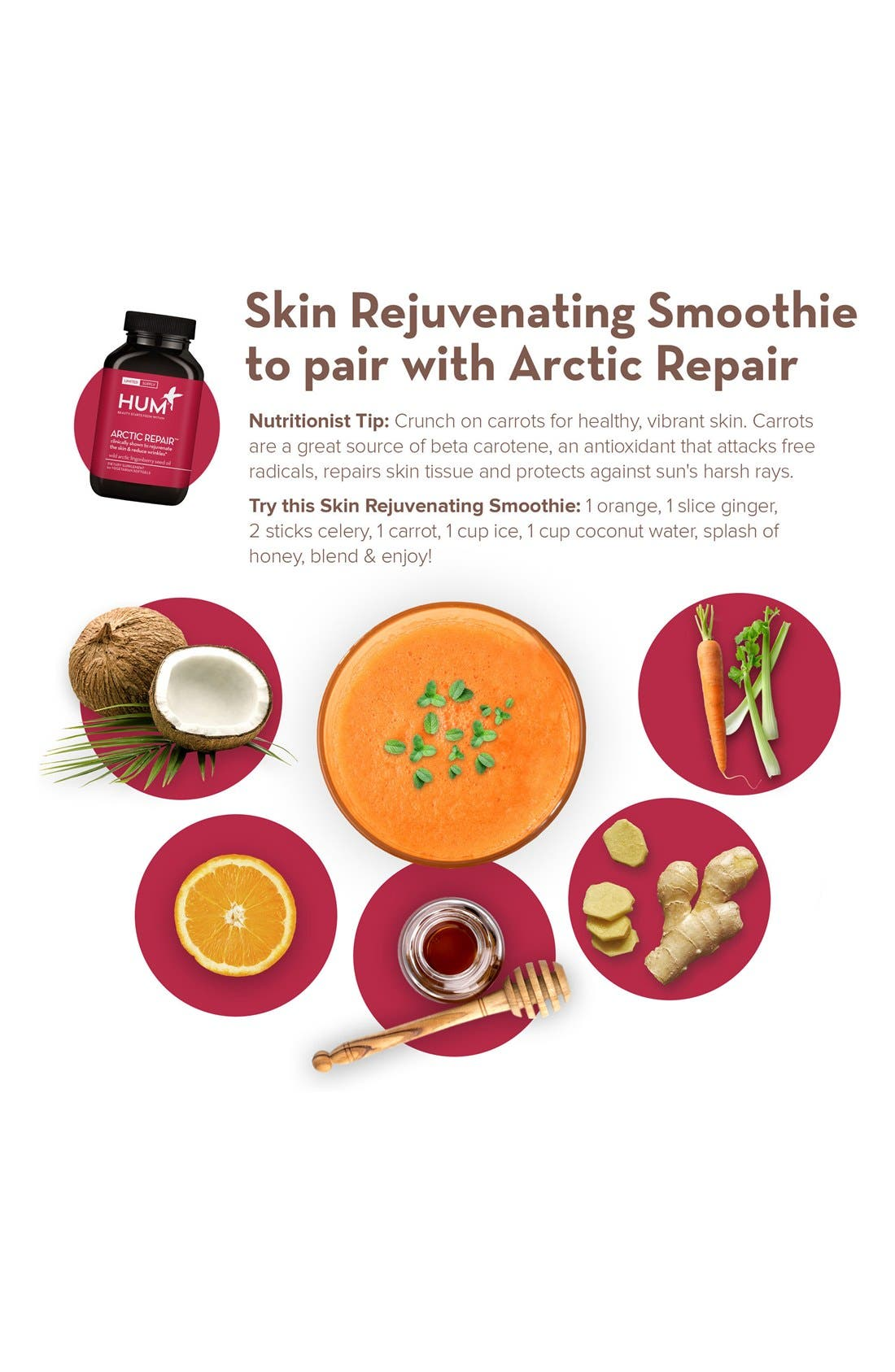 Alternate Image 2  - Hum Nutrition Arctic Repair Capsules (Limited Edition)