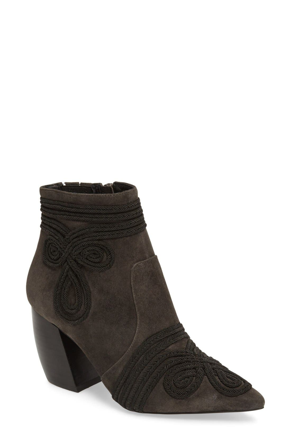 Alternate Image 1 Selected - Jeffrey Campbell Dresden Block Heel Bootie (Women)