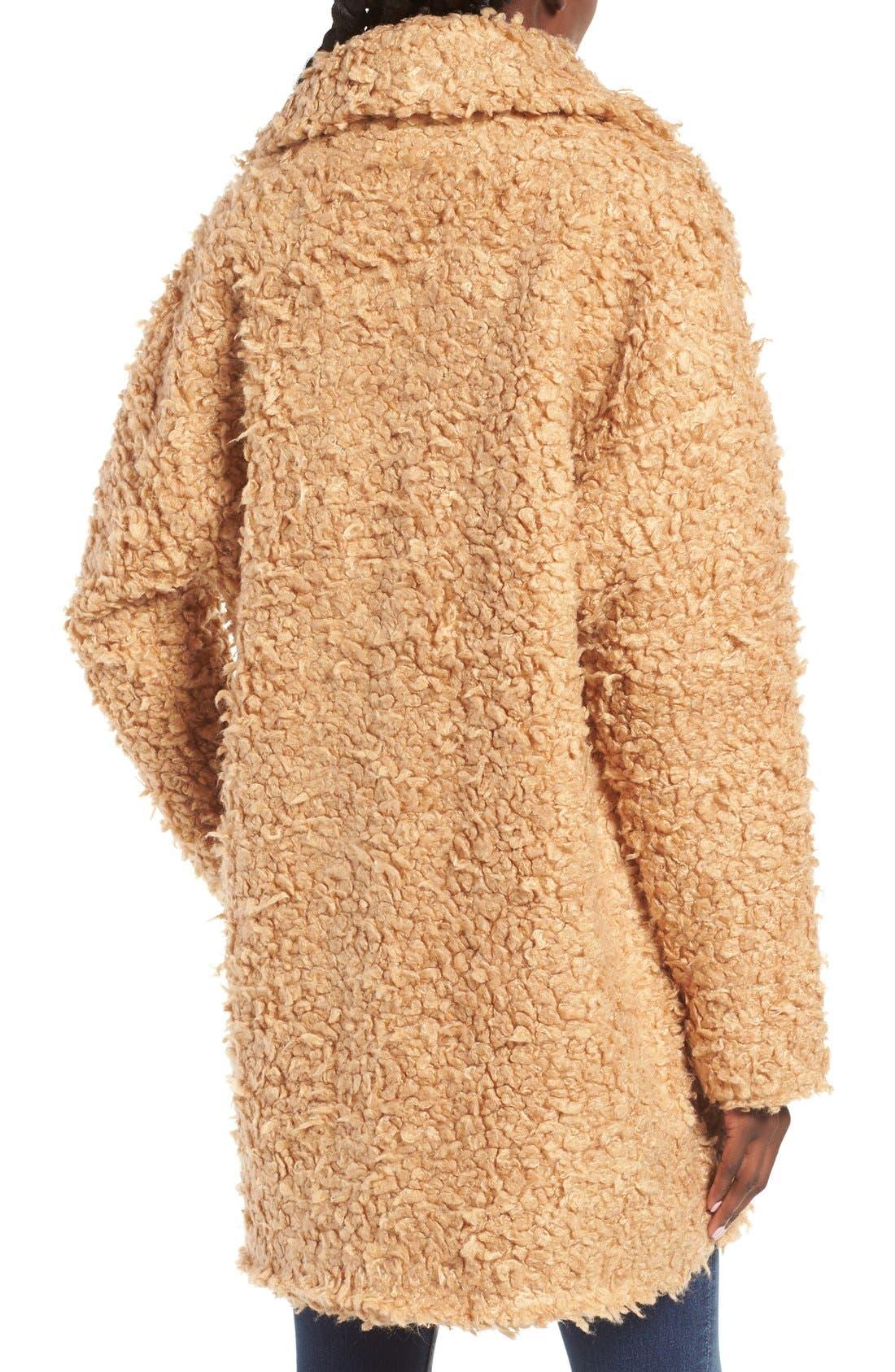Alternate Image 2  - MOON RIVER Bouclé Coat