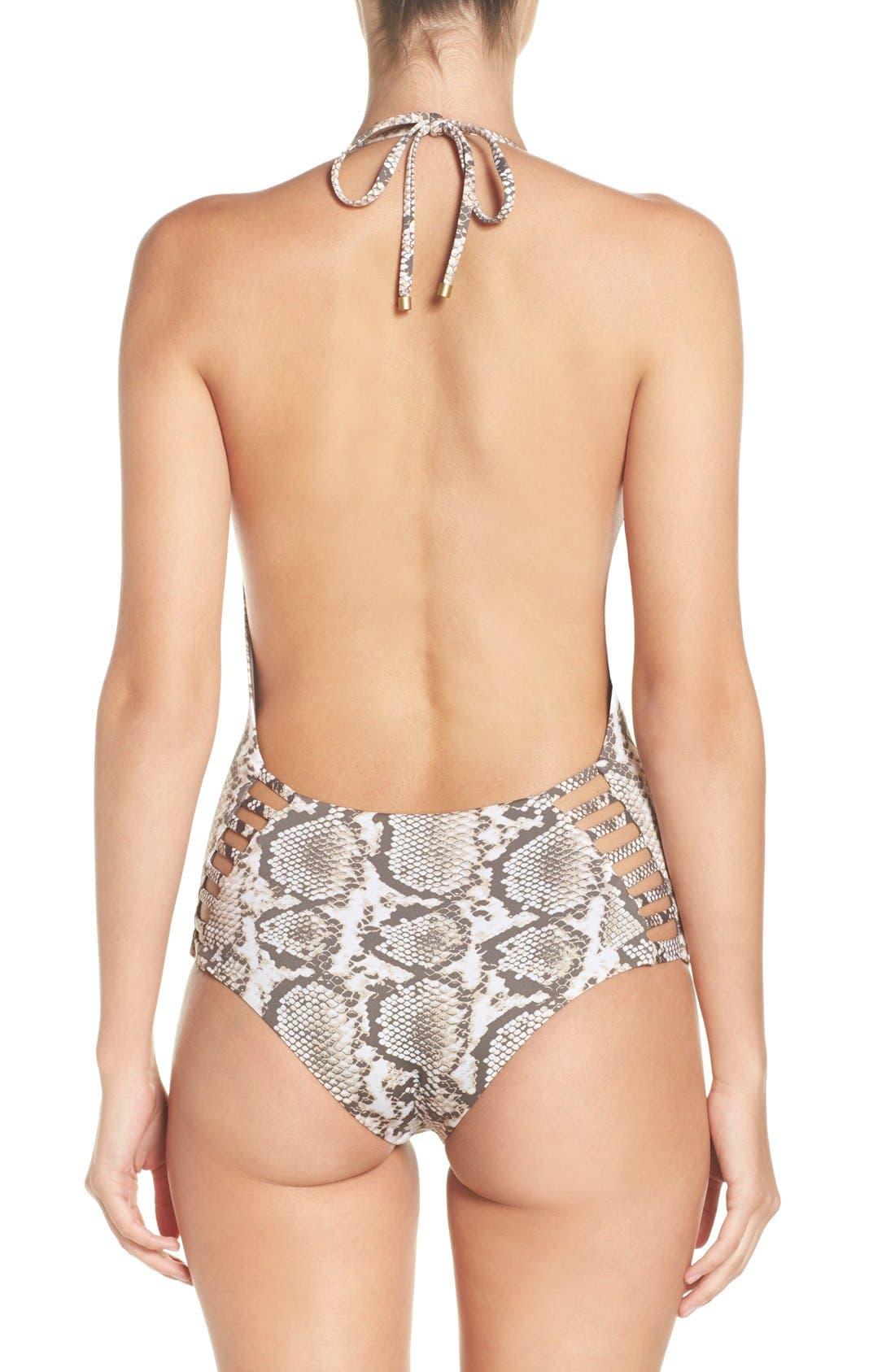 Alternate Image 2  - Vitamin A® Bianca One-Piece Swimsuit