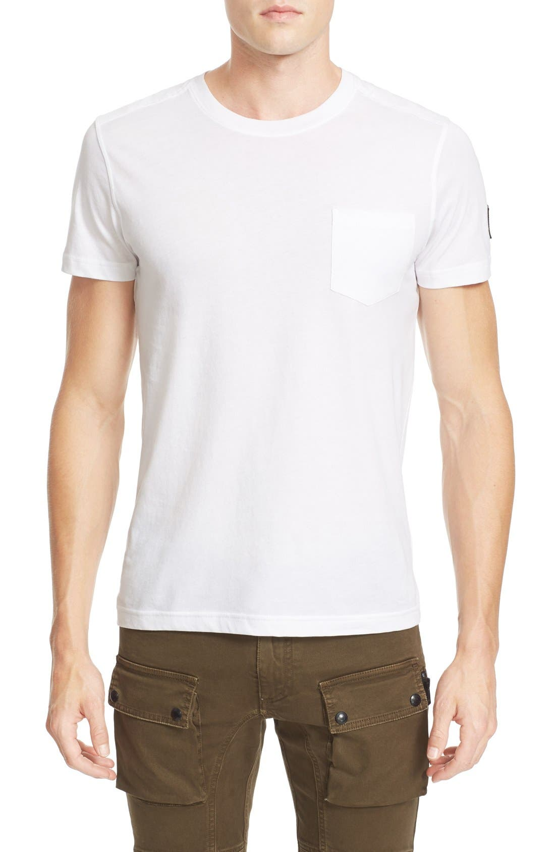 New Thom Heritage Jersey T-Shirt,                             Main thumbnail 1, color,                             White