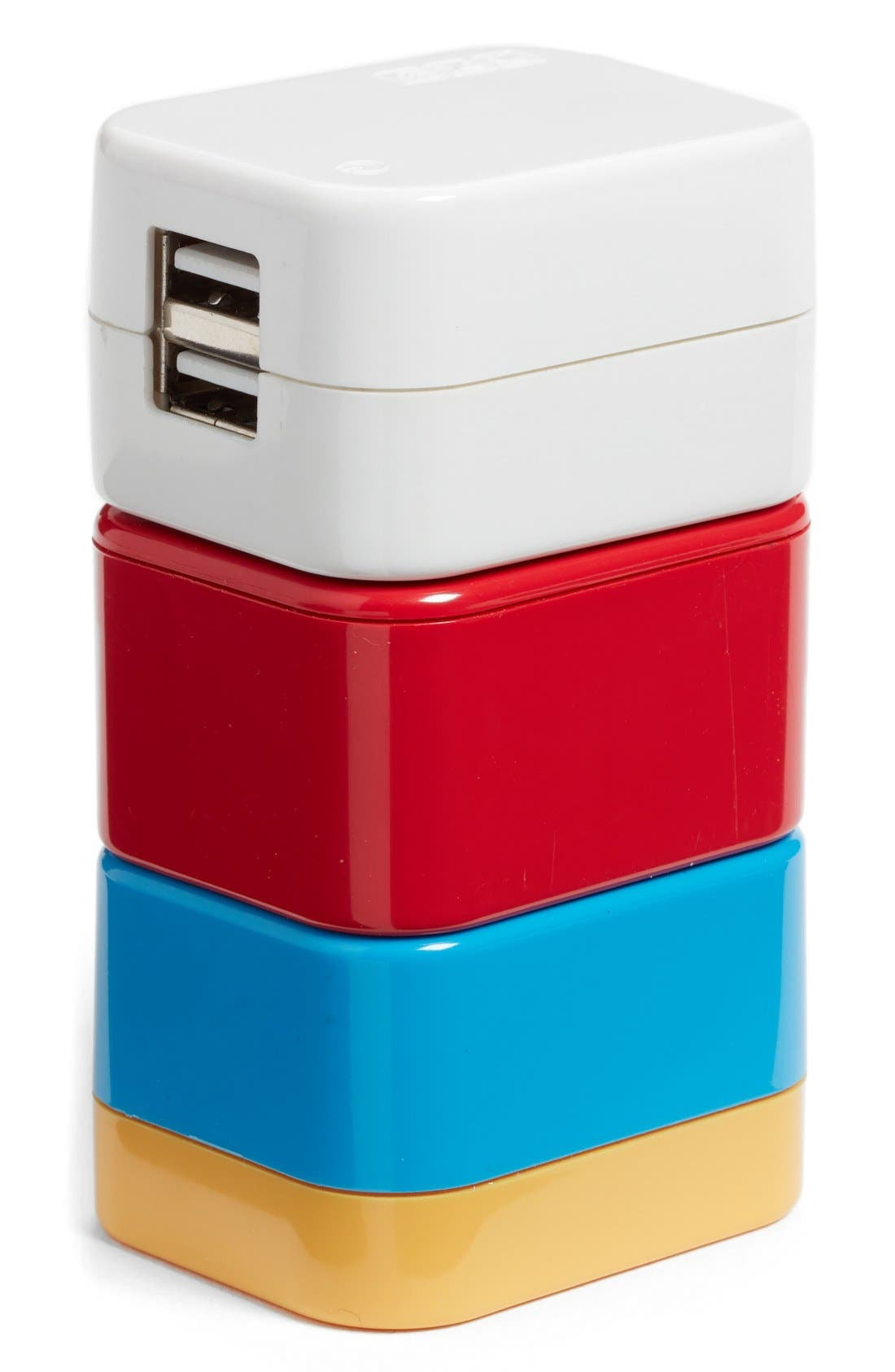 5-in-1 Universal Travel Adapter,                         Main,                         color, Multi