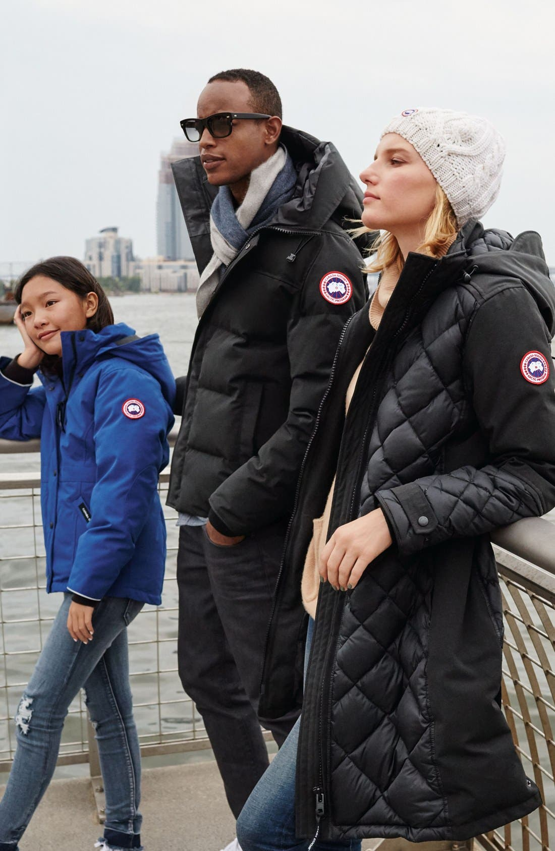 Alternate Image 3  - Canada Goose Cable Knit Merino Wool Beanie