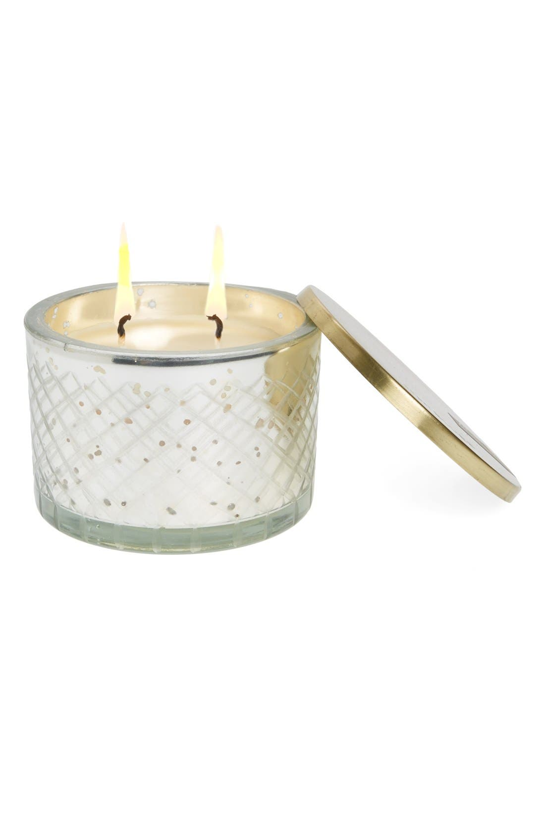 Lidded Candle,                         Main,                         color, Blue Jean