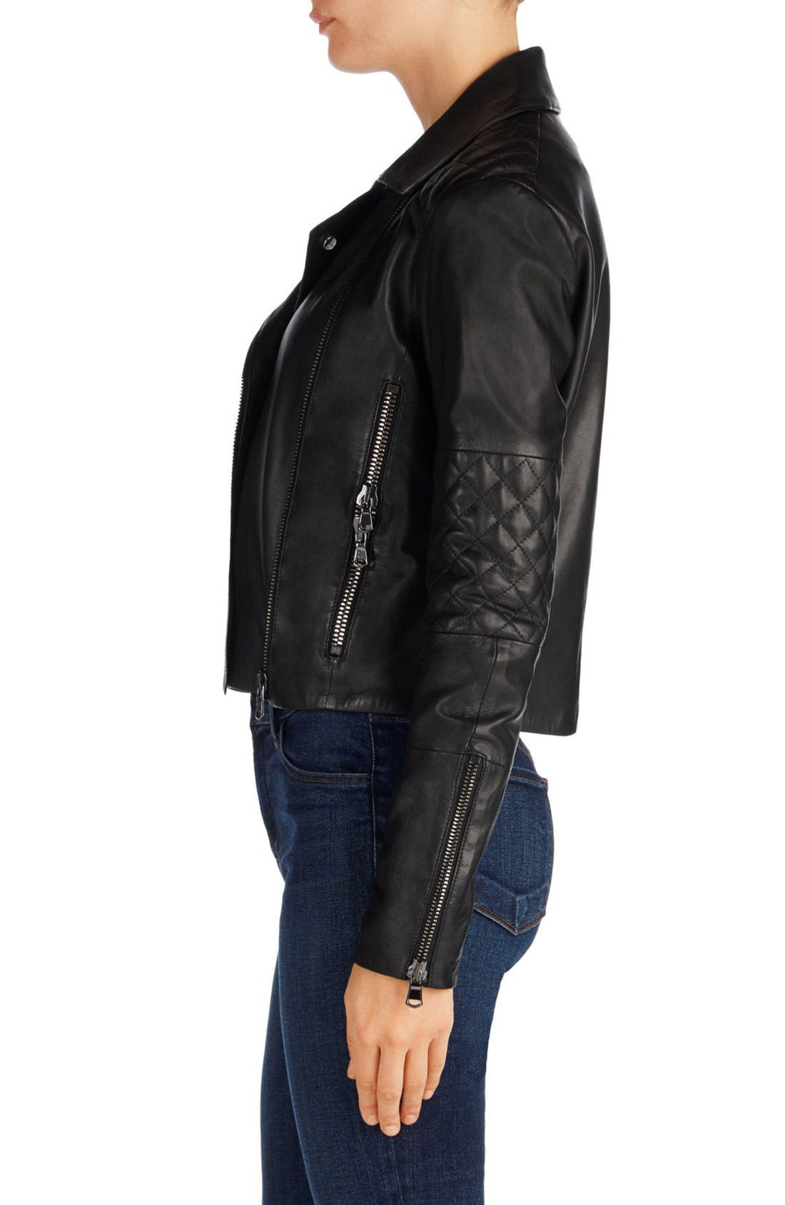 Alternate Image 3  - J Brand Adaire Quilted Leather Jacket