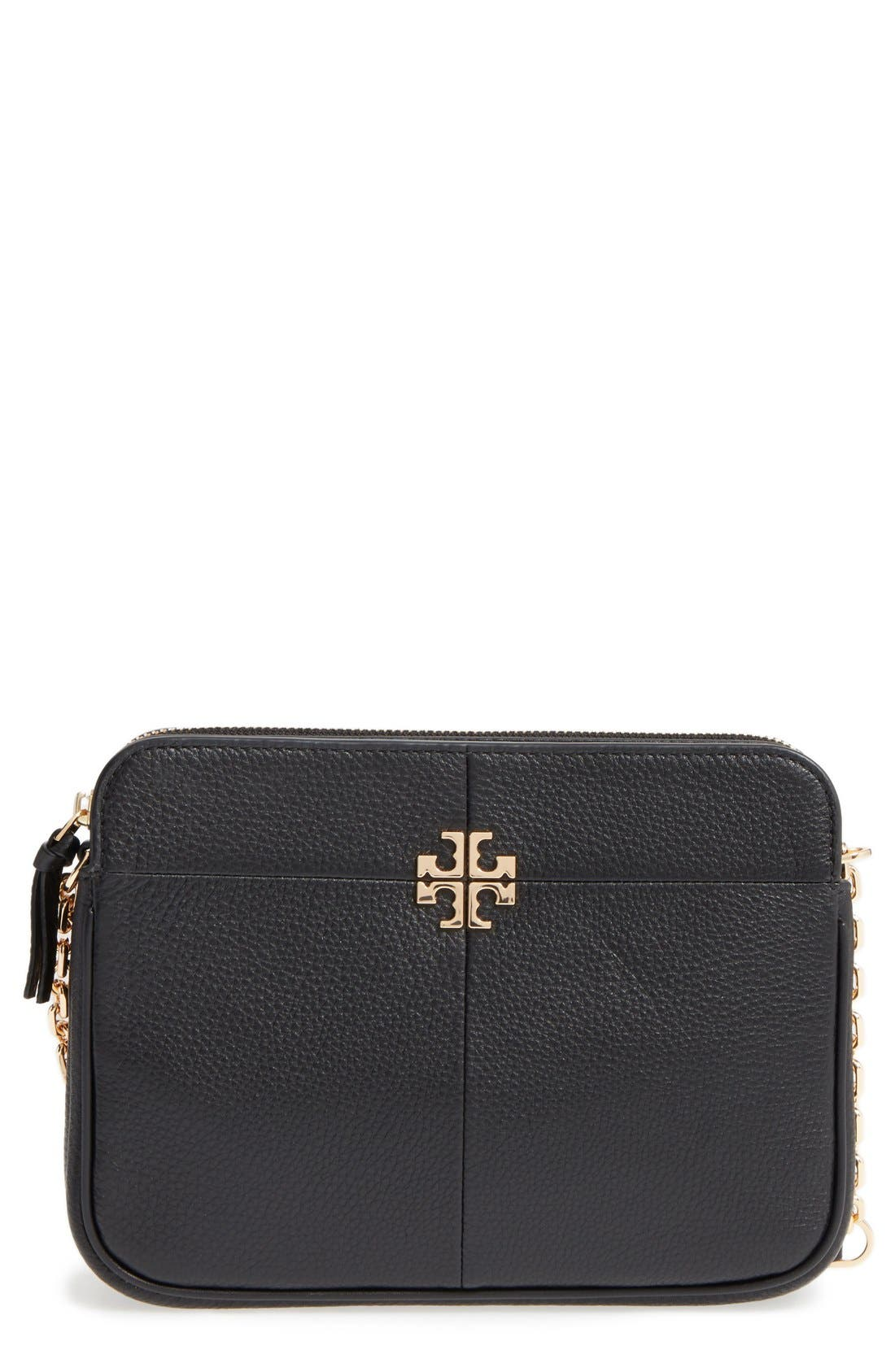 Alternate Image 1 Selected - Tory Burch Ivy Leather Crossbody Bag