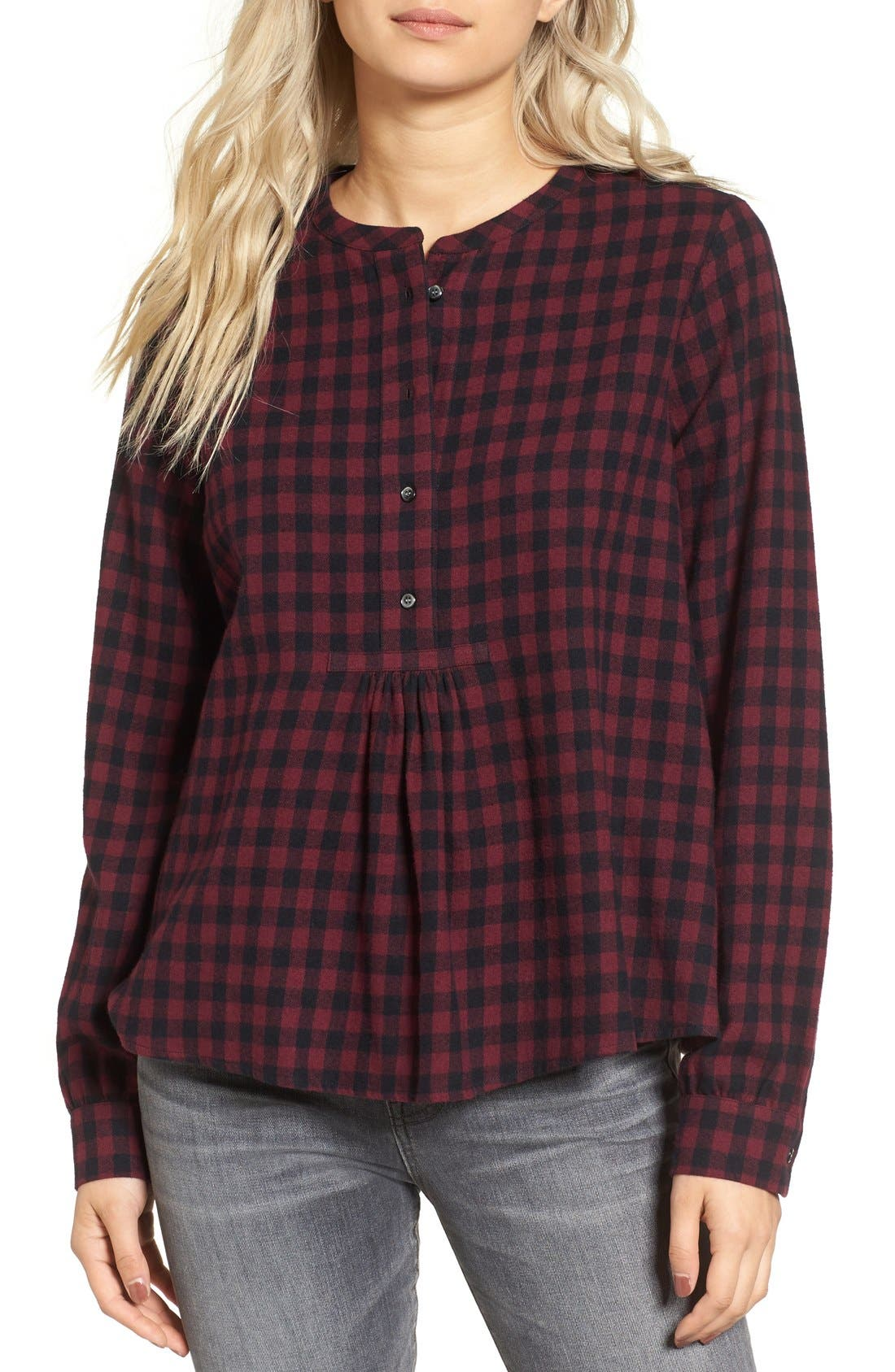 Alternate Image 1 Selected - Madewell Popover Shirt
