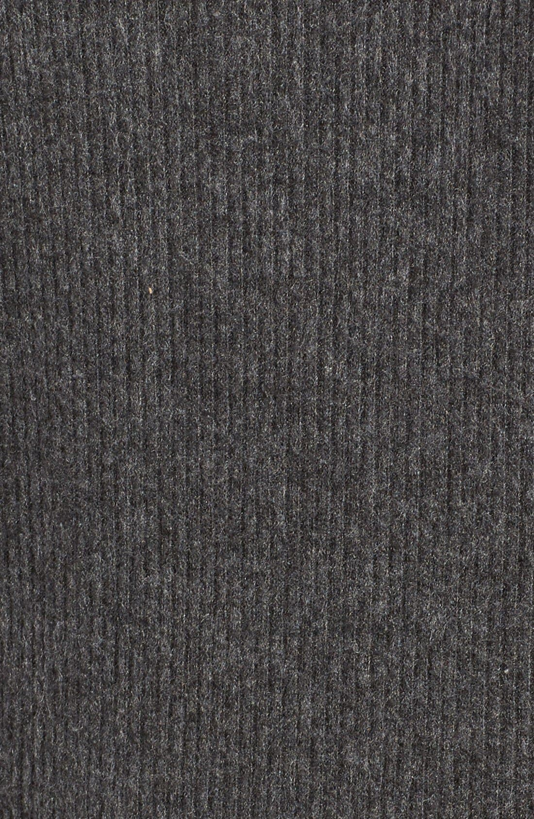 Alternate Image 5  - Velvet by Graham & Spencer Cozy Lace-Up Top