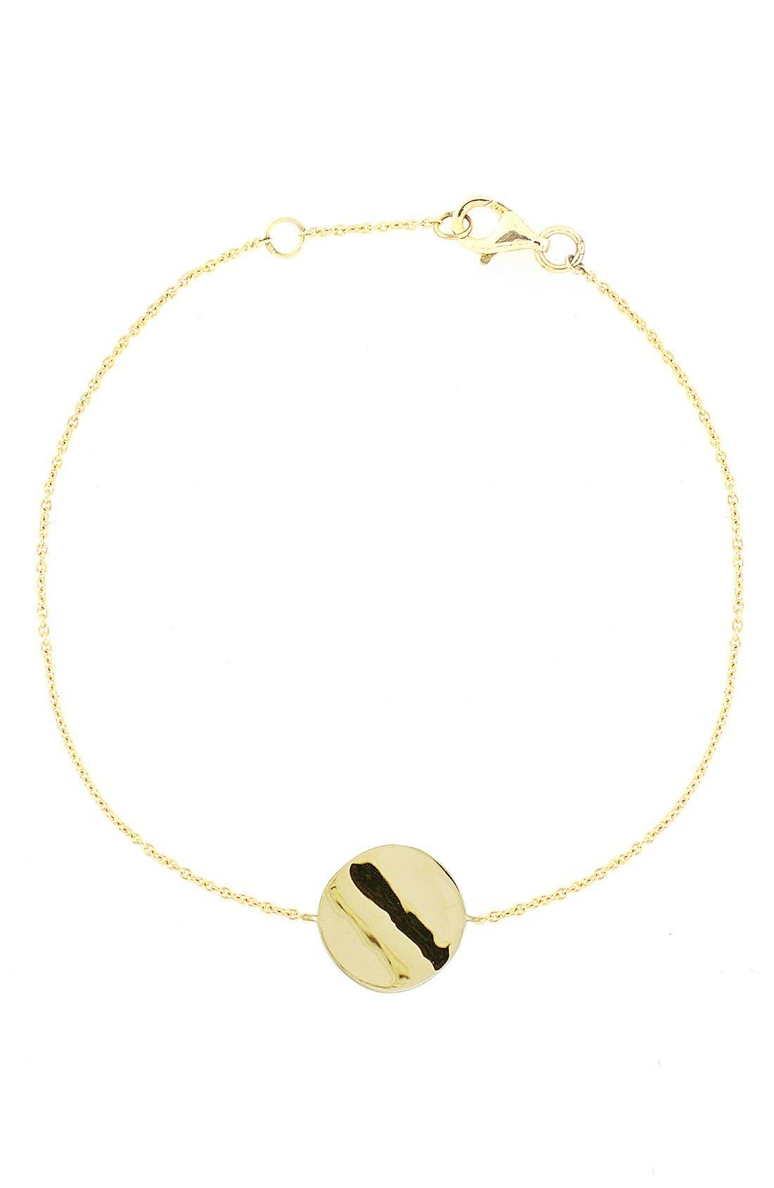 BONY LEVY Circle Station Bracelet