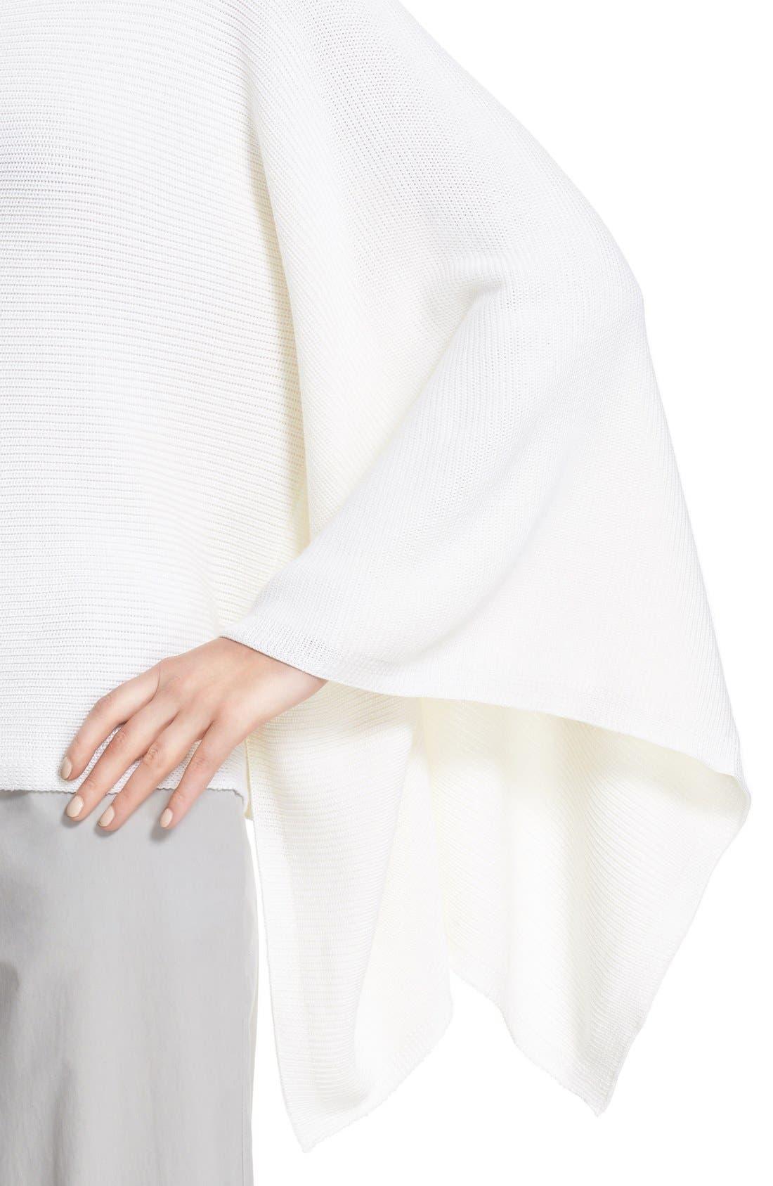 Alternate Image 6  - Lafayette 148 New York Crop Silk & Cotton Kimono Sweater