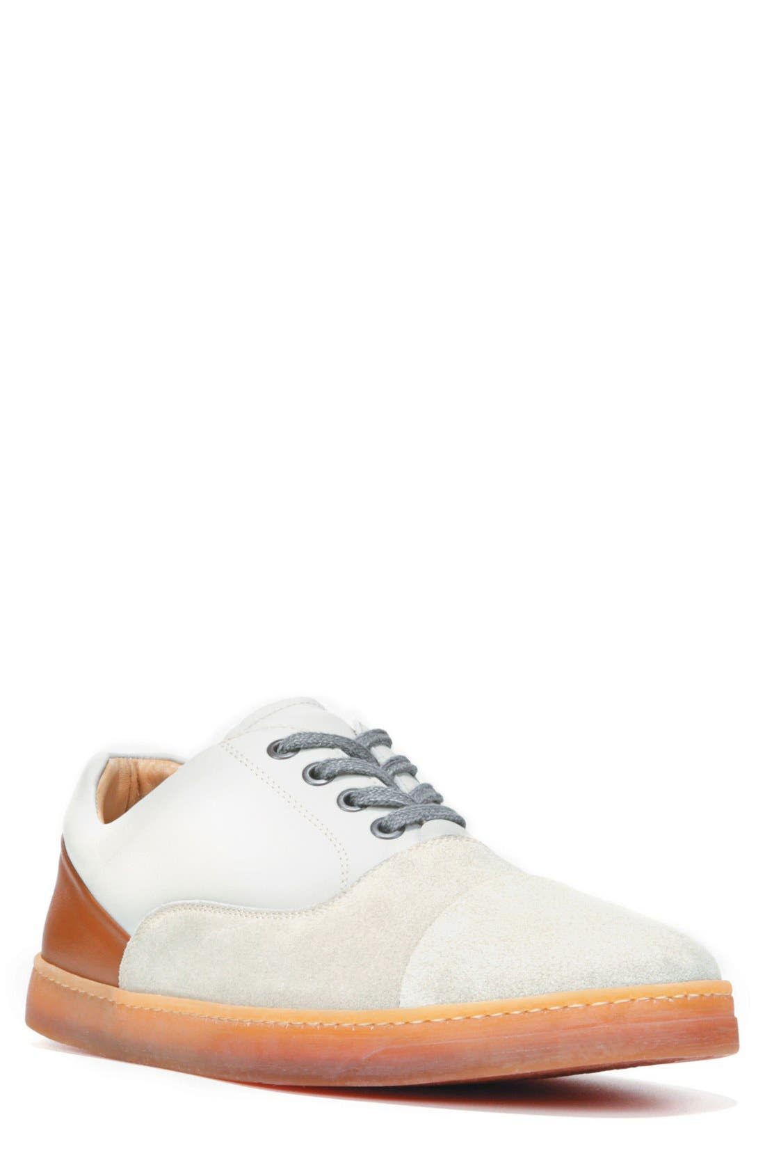 Baldwin Sneaker,                         Main,                         color, Grey Suede