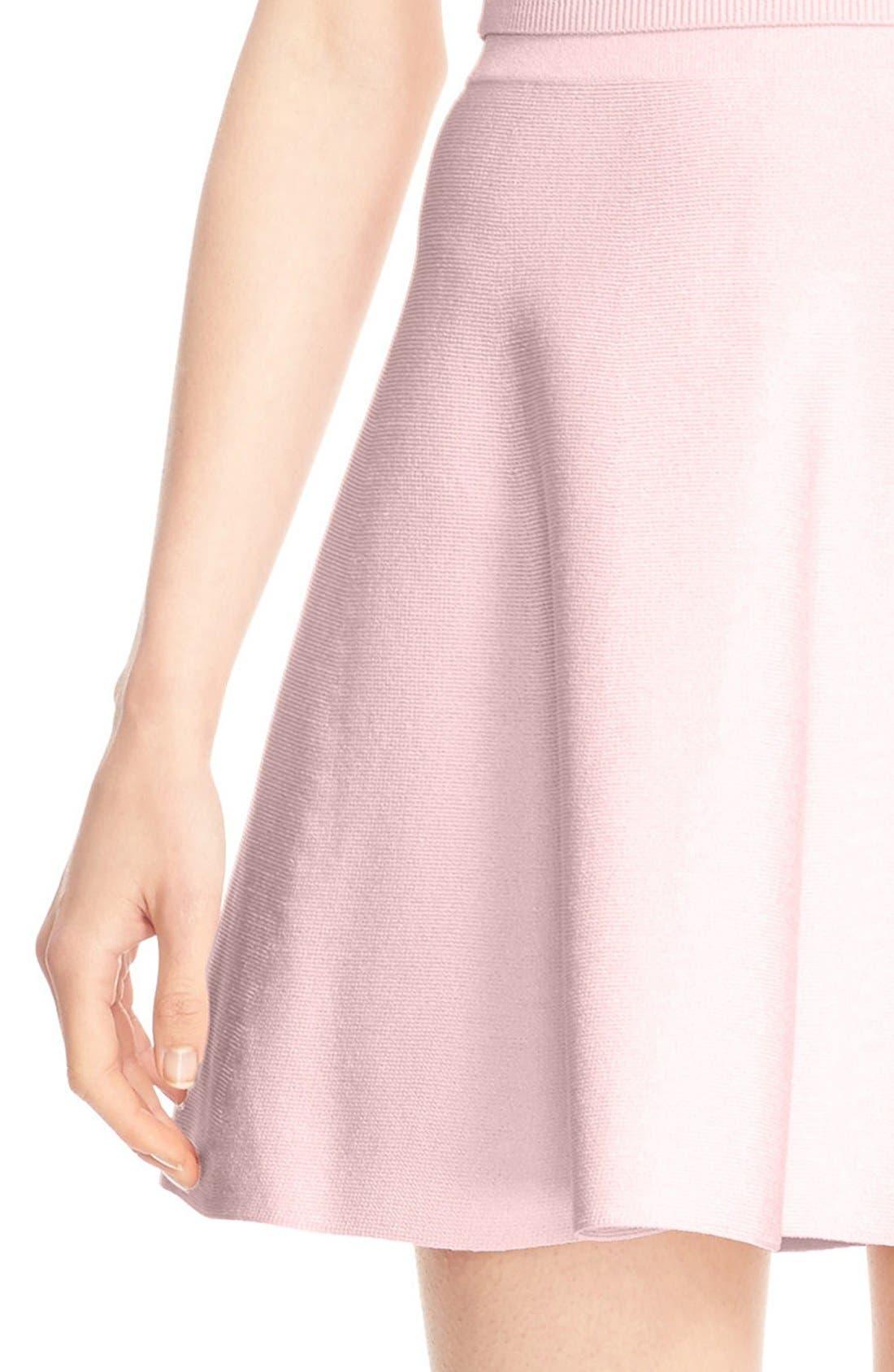 Alternate Image 5  - Cushnie et Ochs Knit Circle Cut Miniskirt