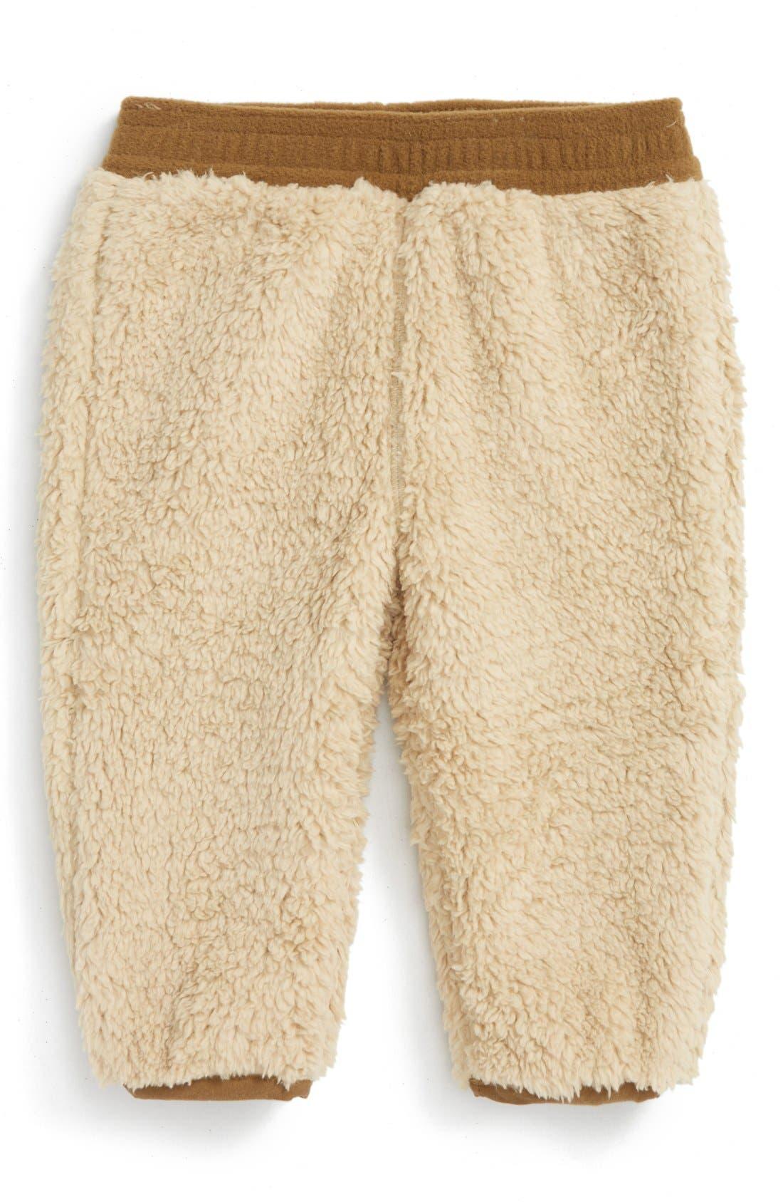 Plushee Pants,                         Main,                         color, Pale Khaki