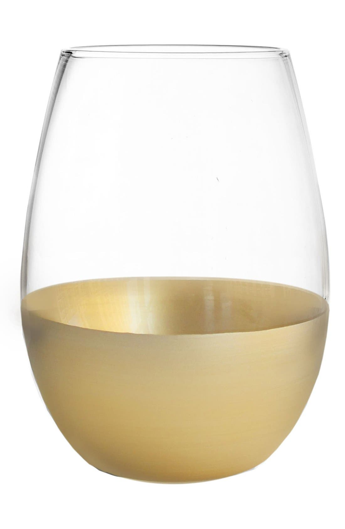 Alternate Image 1 Selected - American Atelier Set of 4 Jane Stemless Wine Glasses