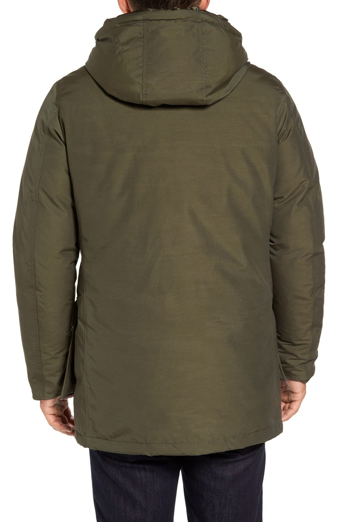 John Rich Down Arctic Parka,                             Alternate thumbnail 2, color,                             Dark Green