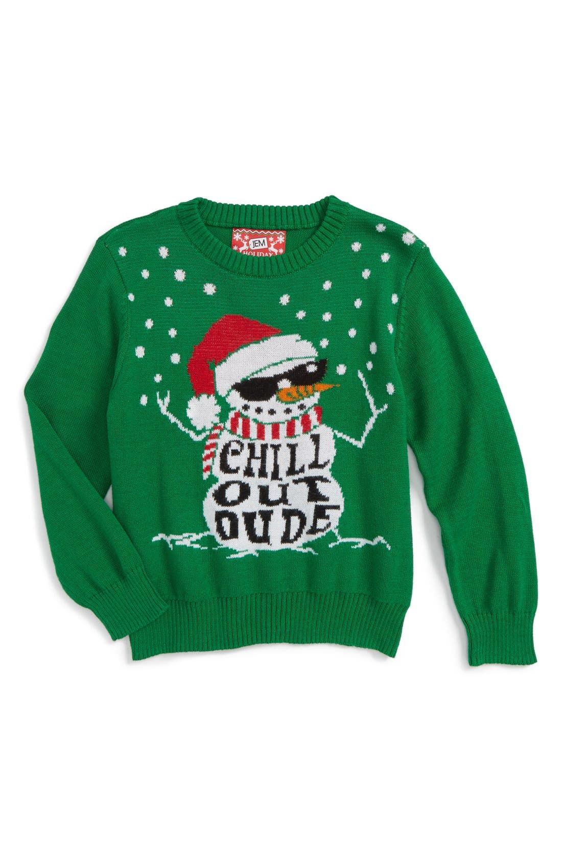 Alternate Image 1 Selected - Jem Chill Out Dude Sweater (Toddler Boys & Little Boys)