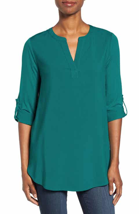 teal shirts for women | Nordstrom