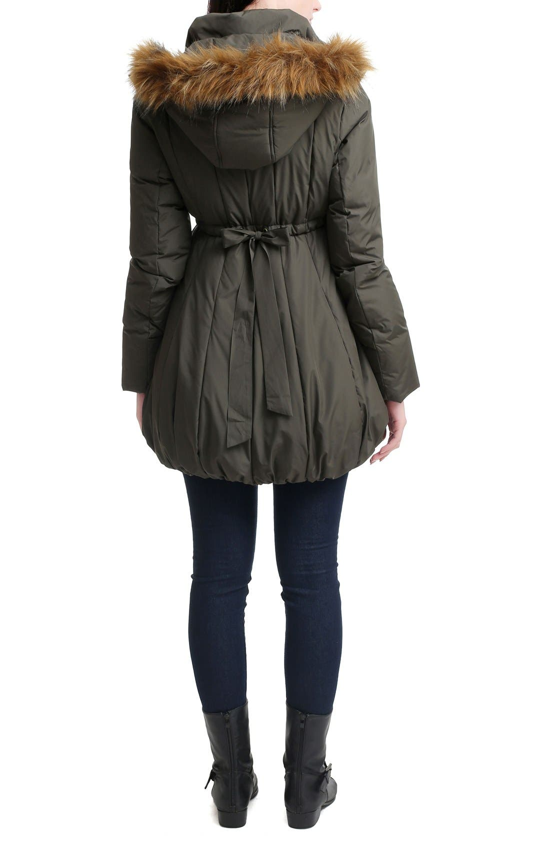 Dixie Down Maternity Parka,                             Alternate thumbnail 2, color,                             Loden