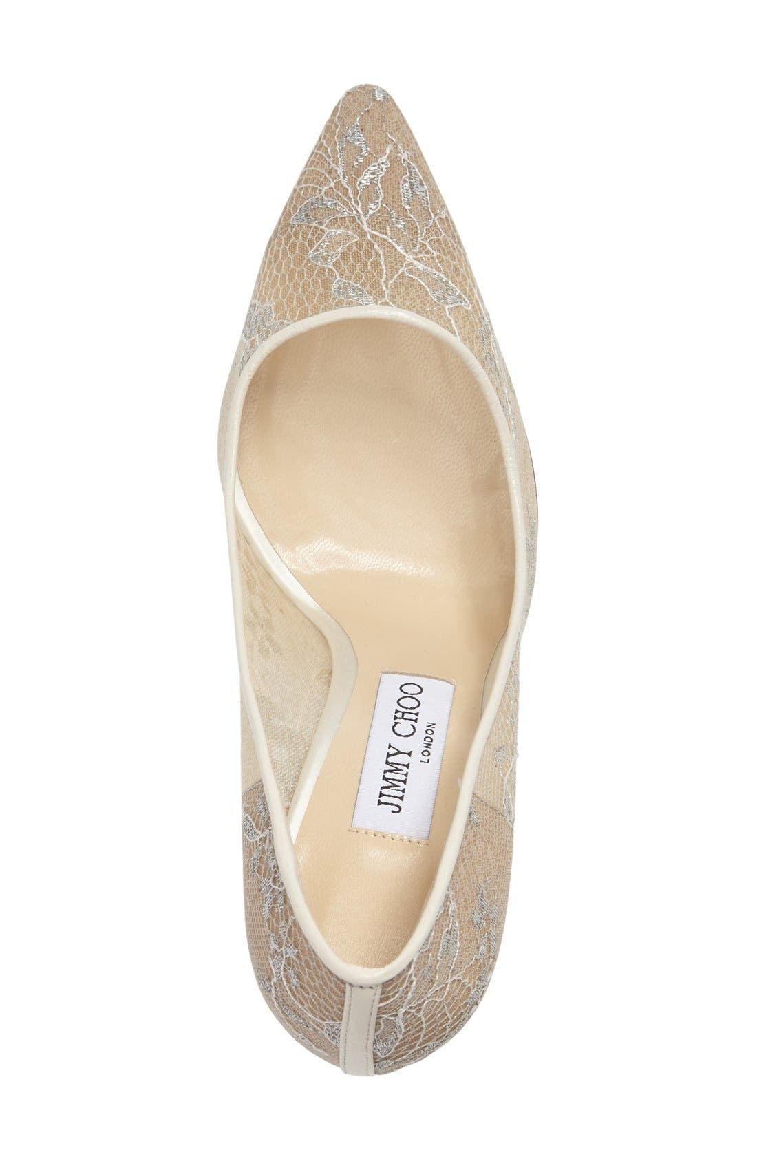 Alternate Image 3  - Jimmy Choo 'Romy' Lace Pump (Women)