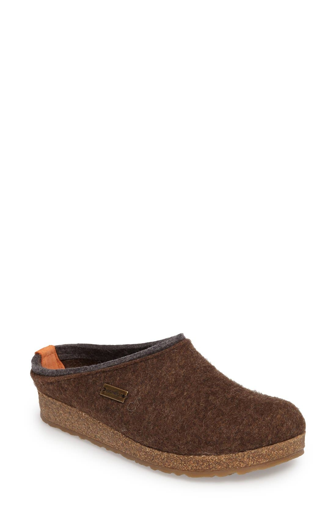 Kris Slipper,                         Main,                         color, Chocolate Wool