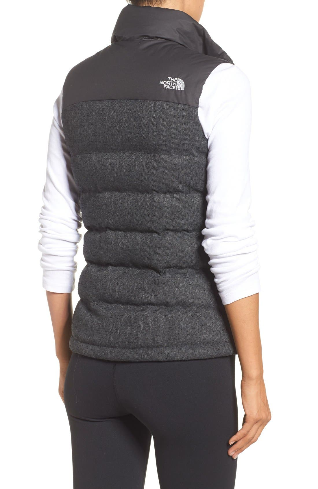 Alternate Image 2  - The North Face 'Nuptse Tweed' Water Resistant Down Vest (Nordstrom Exclusive)