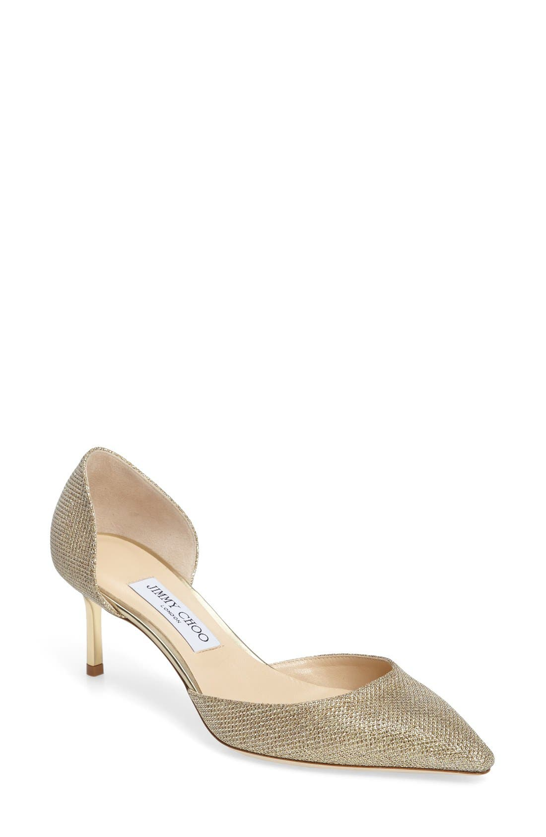 Alternate Image 1 Selected - Jimmy Choo Esther Pointy Toe Pump (Women)