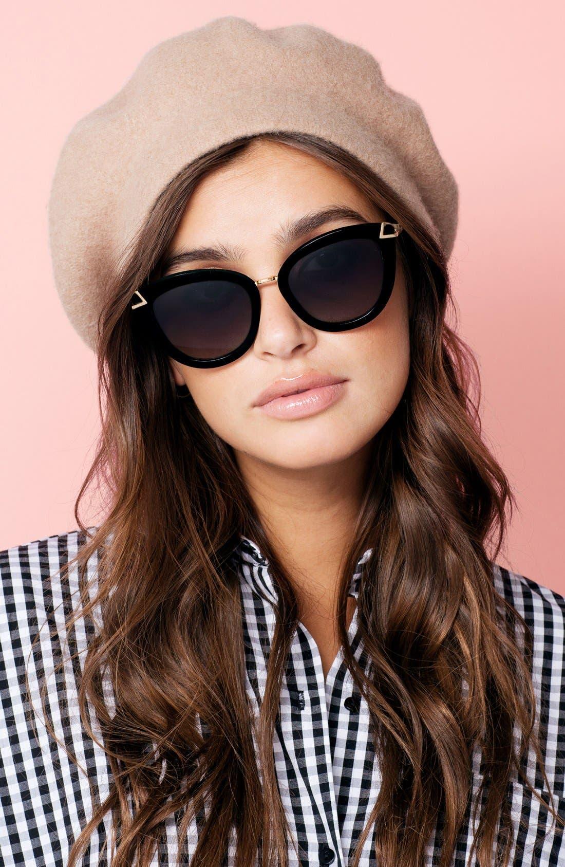 Alternate Image 3  - Sonix Melrose 51mm Gradient Cat Eye Sunglasses