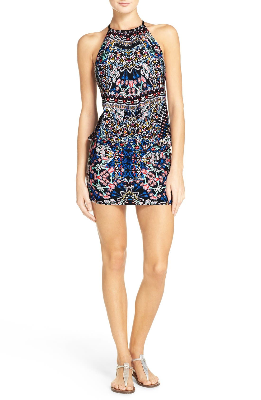 Main Image - Laundry by Shelli Segal Cover-Up Dress