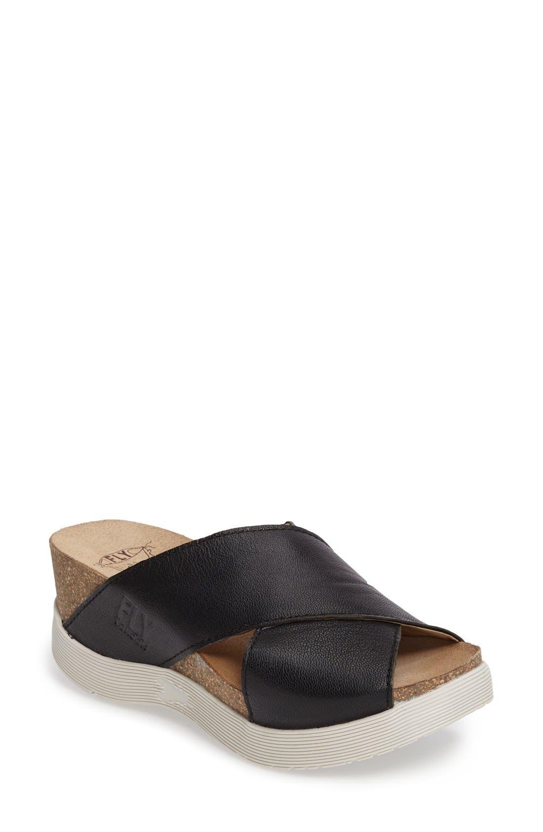 Alternate Image 1 Selected - Fly London Wary Platform Sandal (Women)