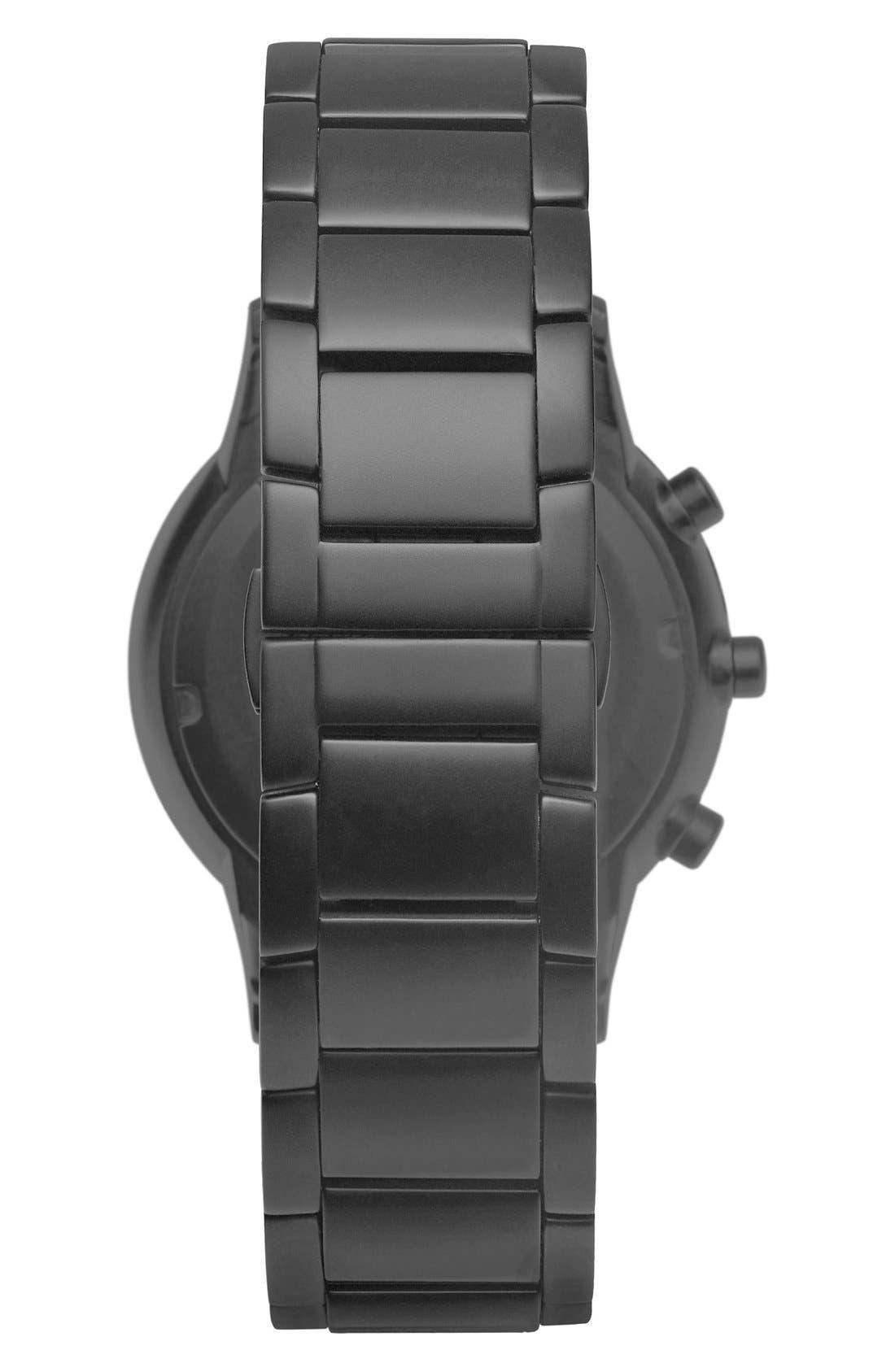 Bracelet Hybrid Smart Watch, 43mm,                             Alternate thumbnail 2, color,                             Black