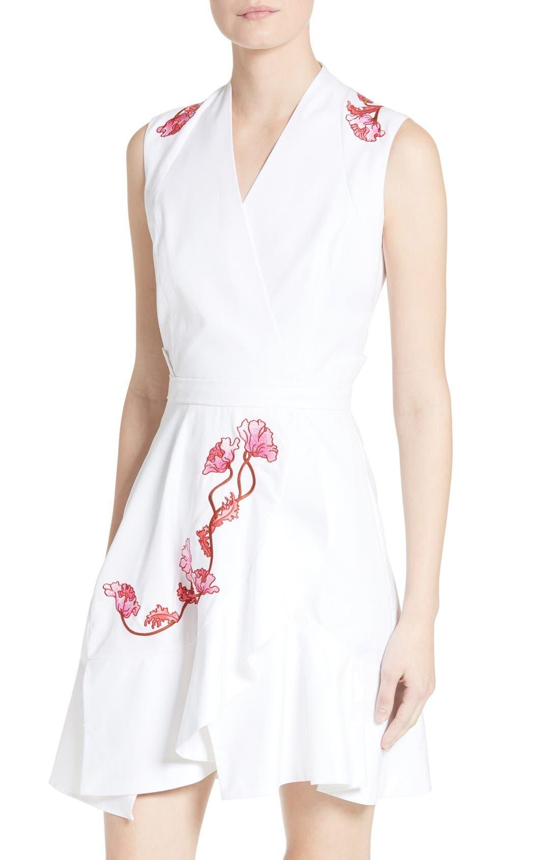 Alternate Image 4  - Carven Embroidered Dress