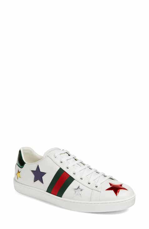 Gucci New Ace Star Sneaker (Women) 725c4ce8f