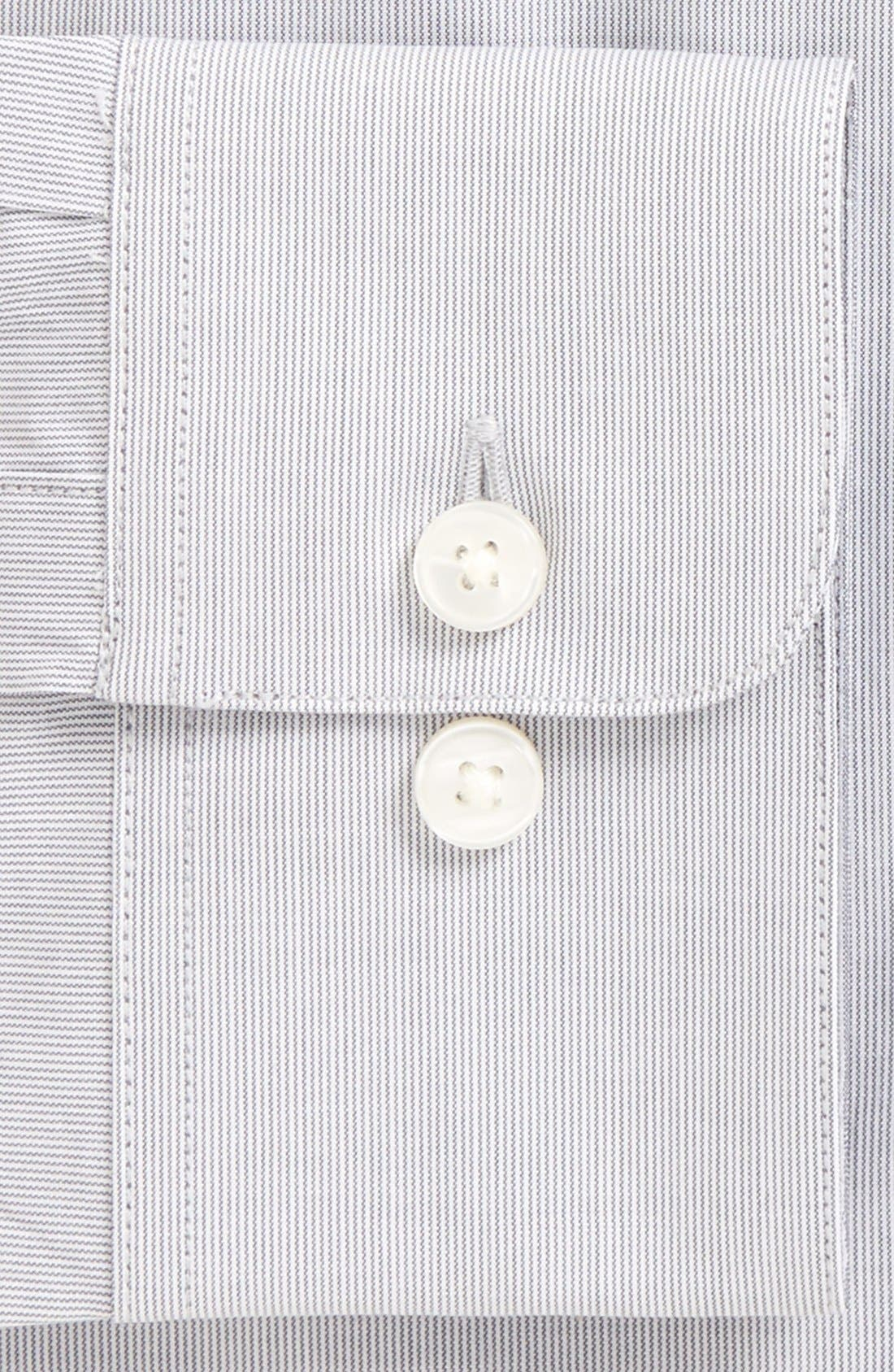 Alternate Image 2  - John Varvatos Star USA Soho Slim Fit Stretch Stripe Dress Shirt