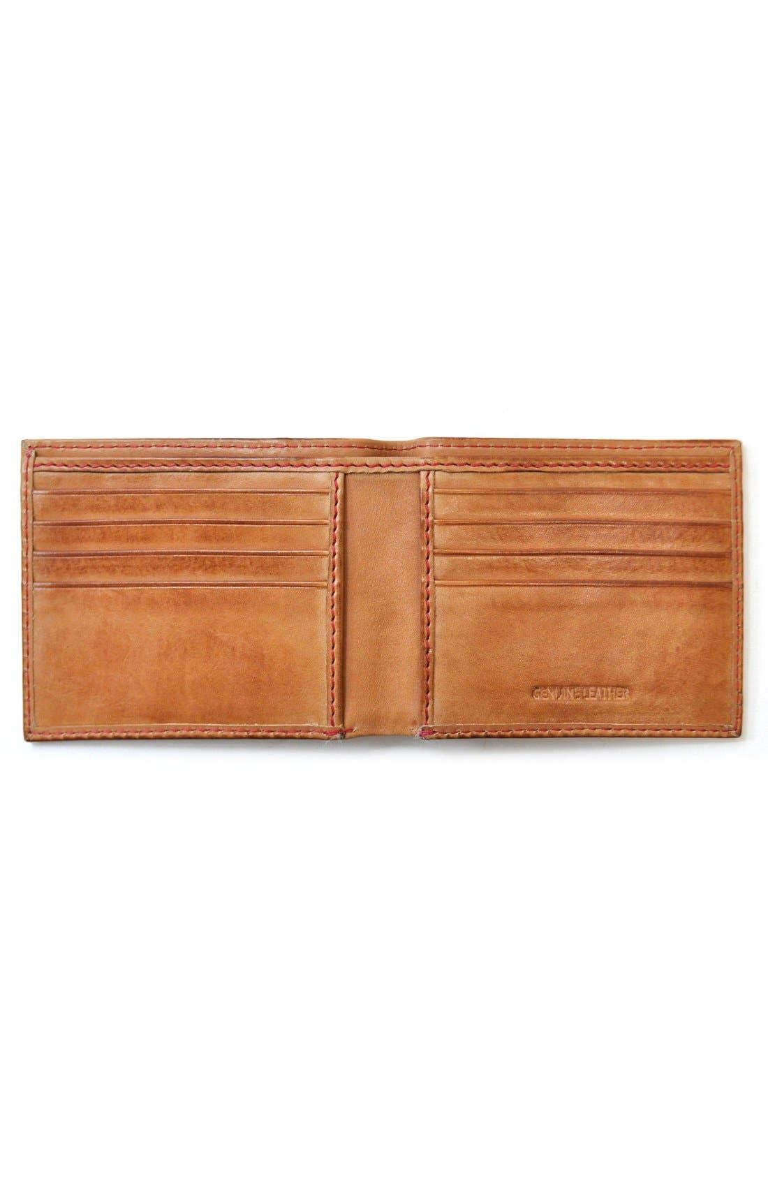 Alternate Image 2  - Rawlings® Baseball Stitch Wallet