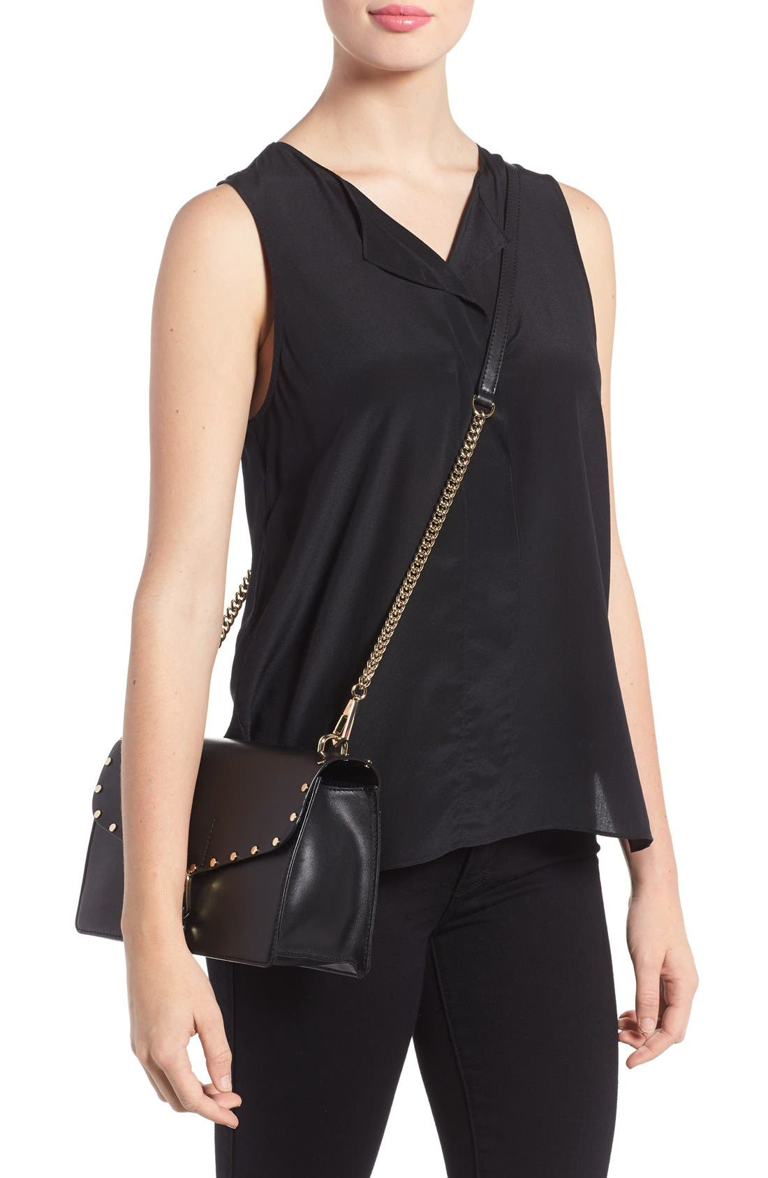 Alternate Image 2  - Rebecca Minkoff Medium Biker Leather Shoulder Bag